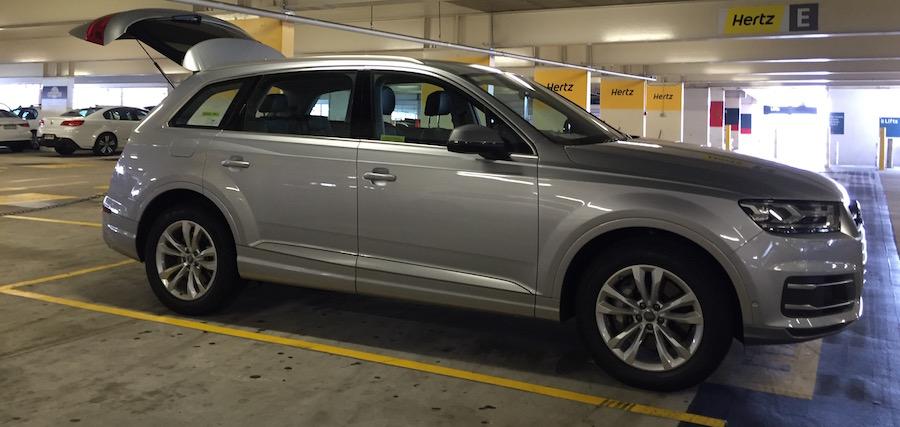 Hertz Audi Q7 Pickup